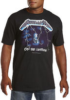 True Nation Metallica Ride Lightning Graphic Tee Casual Male XL Big & Tall