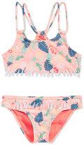 Roxy 2-Pc. Sandy Break Athletic Bikini Set, Little Girls (2-6X)
