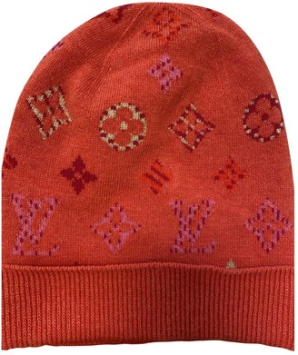 Louis Vuitton Red Cashmere Hats