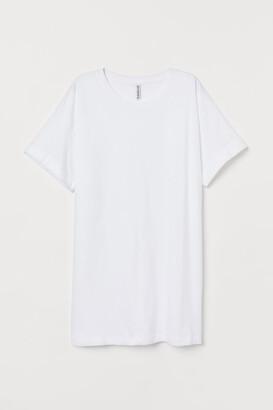 H&M Long T-shirt - White