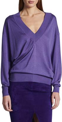 Tom Ford Cashmere Silk V-Neck Sweater