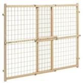 Evenflo Evenflo­­® Position & LockTM Tall Pressure Mounted Gate - Wood