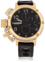 U-Boat Chimera 46mm Sideview Gold Chrono Watch