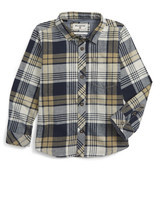 Billabong Coastline Flannel Shirt (Toddler Boys & Little Boys)