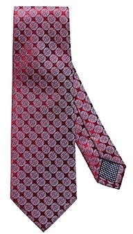 Eton Detailed Circle Pattern Classic Tie