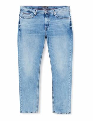Tommy Hilfiger Men's Tapered Str Artas Blue Trouser