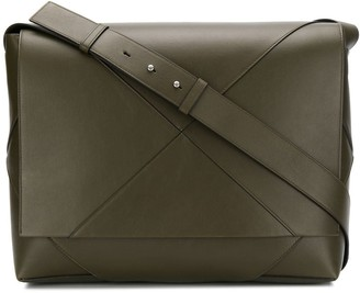 Bottega Veneta Maxi Weave Messenger Bag