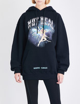 Off-White Not Real cotton-jersey hoody