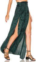 Blue Life Grace Wrap Skirt in Green. - size L (also in M,S,XS)