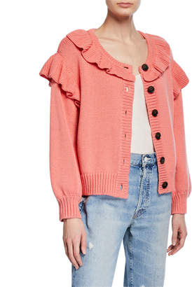 The Great The Ruffle Cardigan