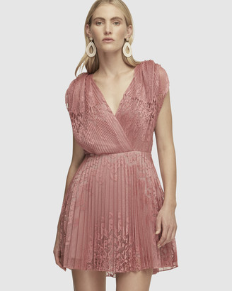 Lover Stargaze Pleat Mini Dress