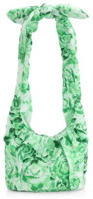 Ganni Padded Floral Hobo Bag