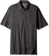 Haggar Men's Big-Tall Short Sleeve Space Dye Knit Polo