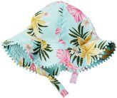 Carter's Baby Girl Floral Pom-Trim Sun Hat