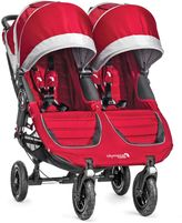 Baby Jogger City Mini® GT Double Stroller in Crimson/Grey