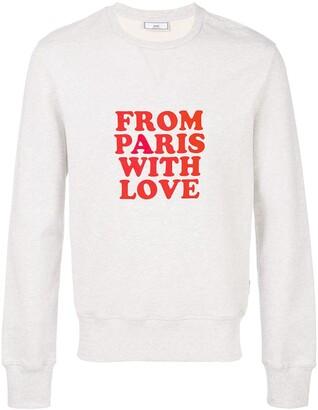 Ami Paris From Paris With Love Sweatshirt