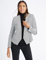 Marks and Spencer Striped Open Front Jacket