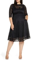 Kiyonna Lacy Cocktail Dress