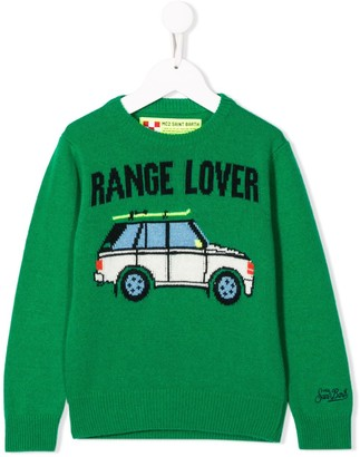 MC2 Saint Barth Kids Car Lover 57 jumper