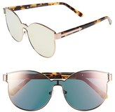 Karen Walker 'Star Sailors - Superstars' 60mm Mirrored Lens Sunglasses