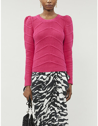 BA&SH Dabney cotton-blend knitted jumper