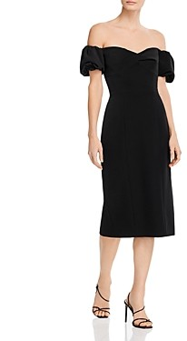 Milly Cady Cara Bodycon Off-the-Shoulder Dress