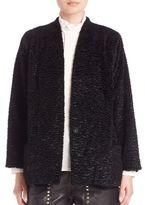 SET Faux Shearling Coat