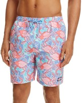 Vineyard Vines Crab Shell Bungalow Swim Trunks