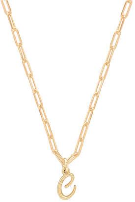 joolz by Martha Calvo C Initial Necklace