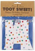 Toot Sweet Birthday Garland