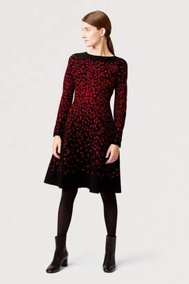 Hobbs Womens Black Jodie Knitted Dress - Black