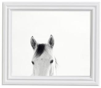 Pottery Barn Modern White Horses by Jennifer Meyers