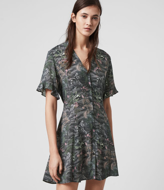 AllSaints Green Dresses Up to 50% off at ShopStyle UK