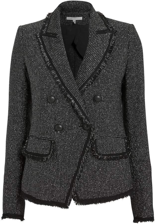 Veronica Beard Frisco Lurex Tweed Jacket