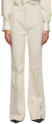 PARTOW Off-White Jensen Trousers