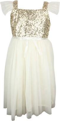 Popatu PopatuSequin Bodice Tulle Dress