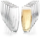 Luminarc Set of 12 Stemless Flutes