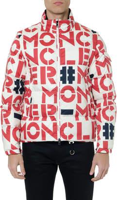 Moncler Genius Cotton Logo Down Jacket
