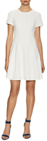 Rebecca Taylor Pique Stitched Flared Dress
