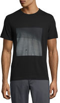 Theory Gaskell Concrete Graphic T-Shirt