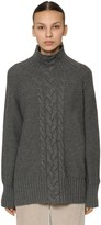 Max Mara 'S WOOL & CASHMERE CABLE KNIT SWEATER