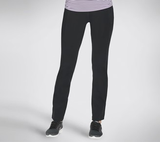 Skechers Apparel High Waisted Straight Leg Pants