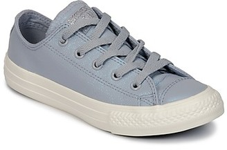 Converse CHUCK TAYLOR ALL STAR OX girls's Shoes (Trainers) in Grey