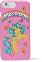 Moschino Printed Coated-acrylic Iphone 7 Plus Case - Pink
