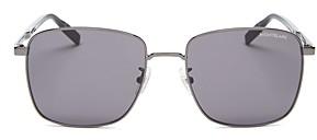 Montblanc Men's Aviator Sunglasses, 58mm