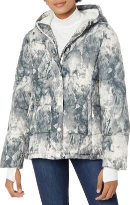 Amazon Essentials Women's Heavy-Weight Long-Sleeve Full-Zip Hooded Puffer Coat