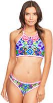 Figleaves Frida Underwired High Neck Bikini Top