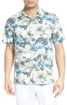 Tommy Bahama Men's Lagoon Lotus Original Fit Silk Camp Shirt