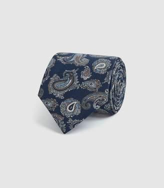Reiss Ruben - Silk Tie in Blue