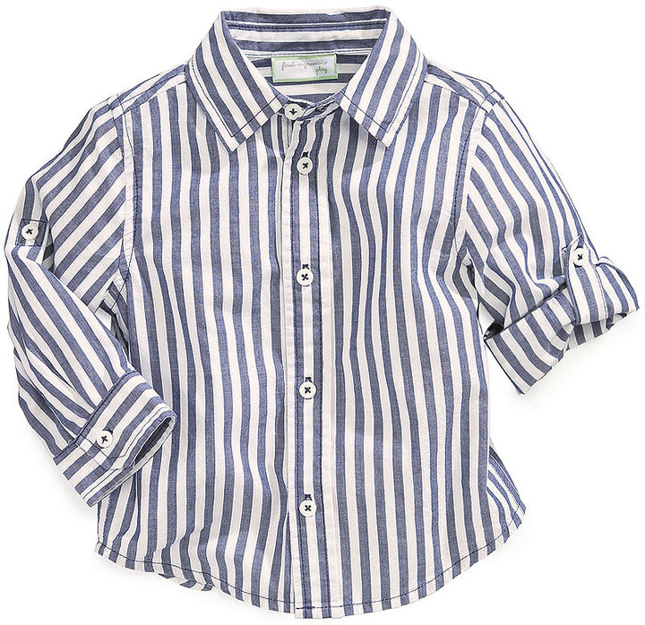 First Impressions Baby Boys' Striped Shirt